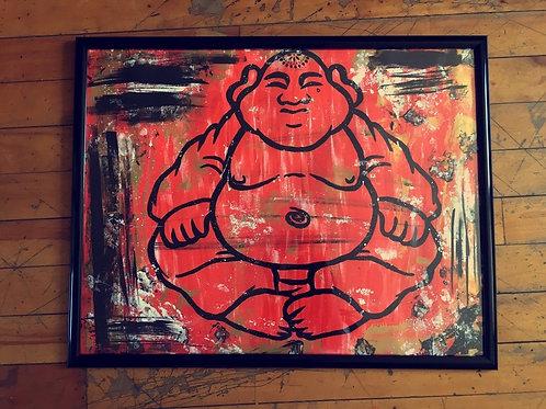 Framed Buddha Piece