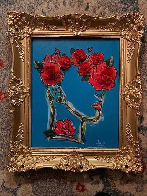 """ rose head"""