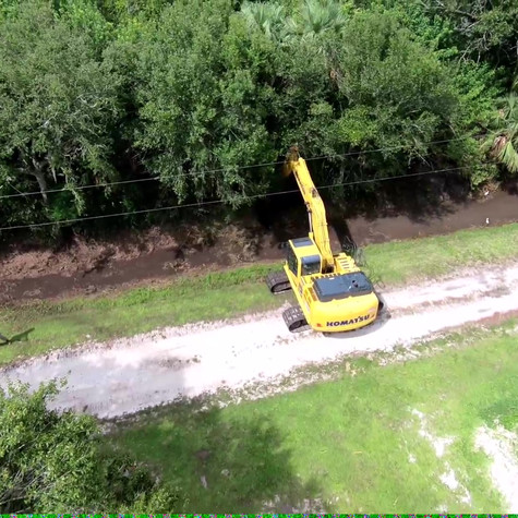 Long Stick Ditch Cleaning