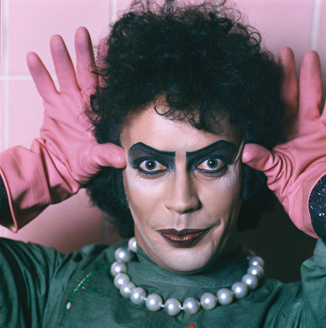 """Rocky Horror Frank Pink Gloves In Ears UK 1974 © Mick Rock  11""""x14"""" $1,200 USD (limited edition of 90) 16""""x20"""" $2,000 USD (limited edition of 90) 20""""x24"""" $2,500 USD (limited edition of 50) 24""""x30"""" $4,000 USD (limited edition of 35) 30""""x40"""" $7,000 USD (limited edition of 25) 40""""x60"""" $12,000 USD (limited edition of 10)"""