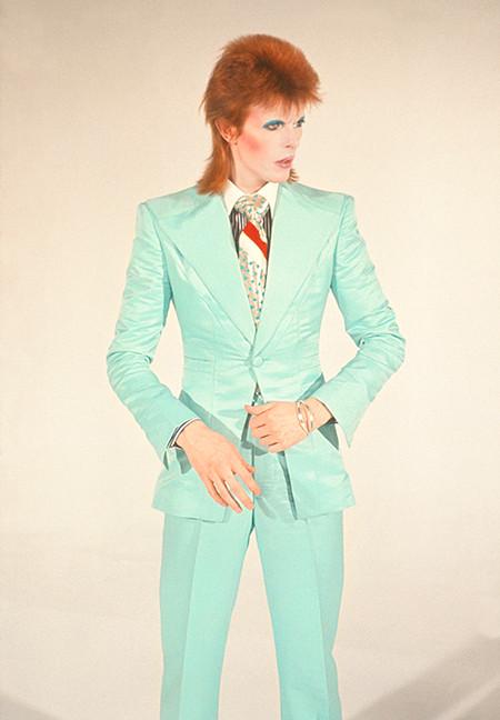 "David Bowie Life On Mars © Mick Rock, London 1973  11""x14"" $1,500 USD (limited edition of 90)  16""x20"" $2,500 USD (limited edition of 90)  20""x24"" $3,000 USD (limited edition of 50)  24""x30"" $4,700 USD (limited edition of 35)  30""x40"" $8,500 USD (limited edition of 25)  40""x60"" $15,000 USD (limited edition of 10)"