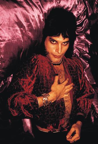 """Freddie Mercury Purple London 1974 © Mick Rock  11""""x14"""" $1,200 USD (limited edition of 90)  16""""x20"""" $2,000 USD (limited edition of 90)  20""""x24"""" $2,500 USD (limited edition of 50)  24""""x30"""" $4,000 USD (limited edition of 35)  30""""x40"""" $7,000 USD (limited edition of 25)  40""""x60"""" $12,000 USD (limited edition of 10)"""