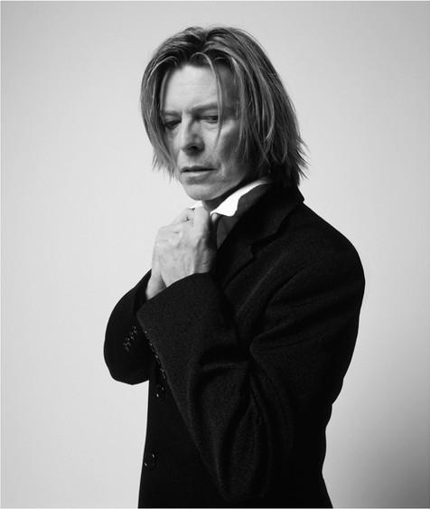 "David Bowie, NYC, 2002 © Mick Rock, 2002  11""x14"" $1,500 USD (limited edition of 90)  16""x20"" $2,500 USD (limited edition of 90)  20""x24"" $3,000 USD (limited edition of 50)  24""x30"" $4,700 USD (limited edition of 35)  30""x40"" $8,500 USD (limited edition of 25)  40""x60"" $15,000 USD (limited edition of 10)"