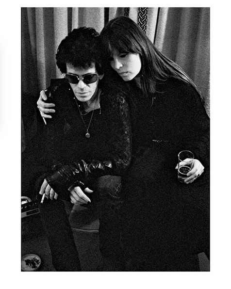 """Lou Reed And Nico Blakes Hotel London 1975 © Mick Rock  11""""x14"""" $1,200 USD (limited edition of 90)  16""""x20"""" $2,000 USD (limited edition of 90)  20""""x24"""" $2,500 USD (limited edition of 50)  24""""x30"""" $4,000 USD (limited edition of 35)  30""""x40"""" $7,000 USD (limited edition of 25)  40""""x60"""" $12,000 USD (limited edition of 10)"""
