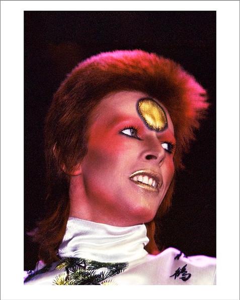 "David Bowie Earls Court © Mick Rock, 1973  11""x14"" $1,500 USD (limited edition of 90)  16""x20"" $2,500 USD (limited edition of 90)  20""x24"" $3,000 USD (limited edition of 50)  24""x30"" $4,700 USD (limited edition of 35)  30""x40"" $8,500 USD (limited edition of 25)  40""x60"" $15,000 USD (limited edition of 10)"