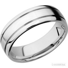 D2.5 – DOMED WITH 2 ACCENT GROOVES