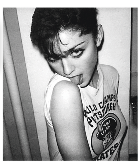 "Madonna New York 1980 © Mick Rock  11""x14"" $1,200 USD (limited edition of 90) 16""x20"" $2,000 USD (limited edition of 90) 20""x24"" $2,500 USD (limited edition of 50) 24""x30"" $4,000 USD (limited edition of 35) 30""x40"" $7,000 USD (limited edition of 25) 40""x60"" $12,000 USD (limited edition of 10)"