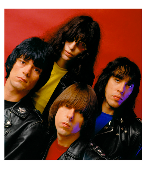 """The Ramones End Of The Century Cover Session New York 1979 © Mick Rock  11""""x14"""" $1,200 USD (limited edition of 90) 16""""x20"""" $2,000 USD (limited edition of 90) 20""""x24"""" $2,500 USD (limited edition of 50) 24""""x30"""" $4,000 USD (limited edition of 35) 30""""x40"""" $7,000 USD (limited edition of 25) 40""""x60"""" $12,000 USD (limited edition of 10)"""