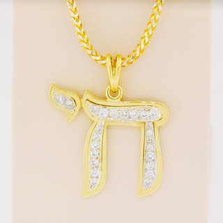 14k two-tone, .30ct total weight diamond necklace