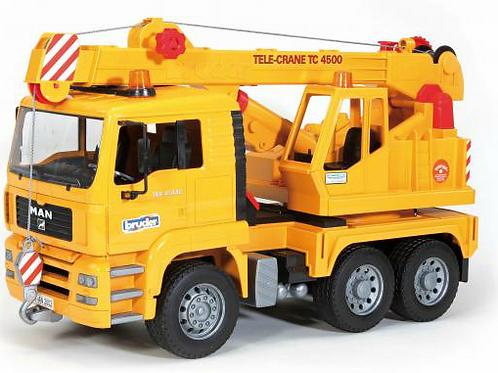 MAN TGA Crane Truck (Bruder)