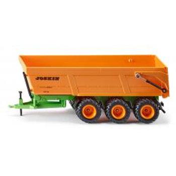 SIKU Joskin triple-axle tipping trailer