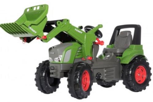 Fendt 939V with Front Loader Pedal Tractor (Plastic Tires)