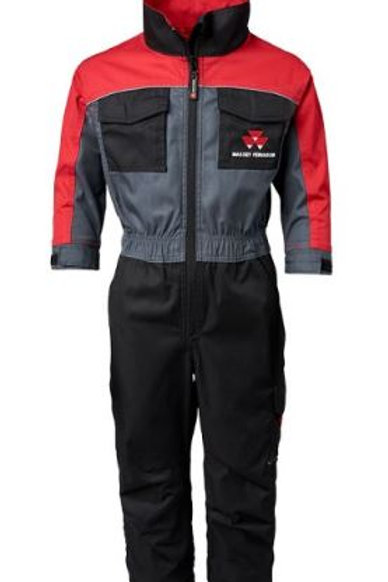 MF Kid's Red/Grey/Black Coverall