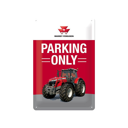 """MF """"Parking Only"""" plate"""