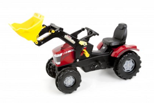 MF 8650 Pedal Tractor with Loader (Plastic Tires)