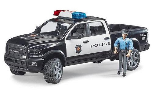 Bruder Police Ram 2500 w/ Policeman + Light and Sound Module