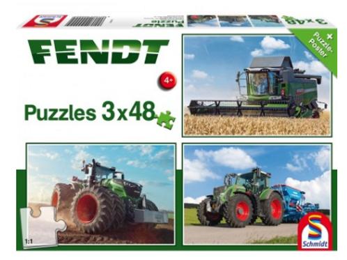 Fendt 3x48-pc Puzzles