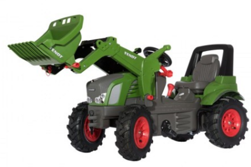Fendt 939V with Front Loader & Gears Pedal Tractor (Rubber Tires)