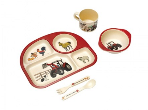 MF Kid's Bamboo Dinner Set