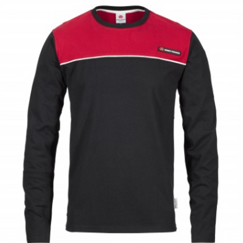 MF Red/Black Long Sleeved Shirt
