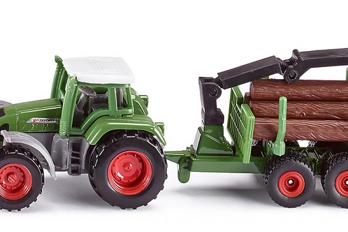 Fendt with Forestry Trailer (Siku)