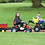 Thumbnail: MF 8650 Pedal Tractor with Loader (Plastic Tires)