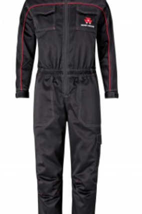 MF Kid's Black Coveralls