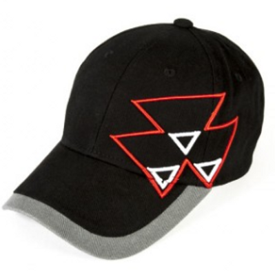 MF Black Cap with Triple Triangle
