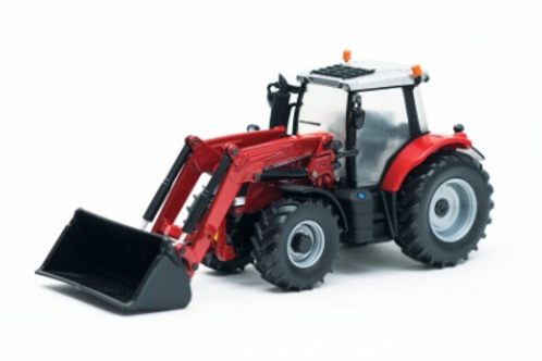 MF 6616 with Loader & Attachments Toy (Britians)