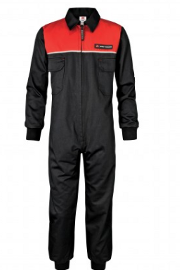 MF Black/Red Kid's Coveralls