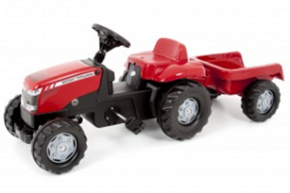 MF Pedal Tractor & Trailer