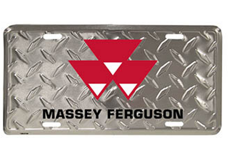 MF Aluminum License Plate
