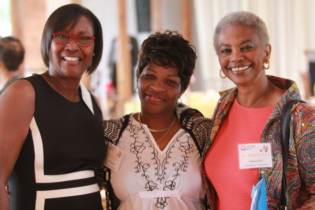 Olive Joyner, Executive Director, Fontella Bass, HNH alumni, and Dr. Beverly Ford, HNH Board Chair