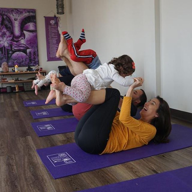 Kids Yoga is back to their regular sched