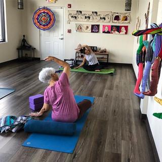 Morning Hatha Yoga at _playstudio_miami.