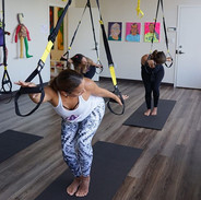Our brand new TRX for Yoga class is a fu