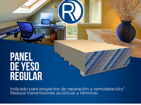 Panel de Yeso Regular