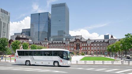 観光バス・バリアフリー観光バス