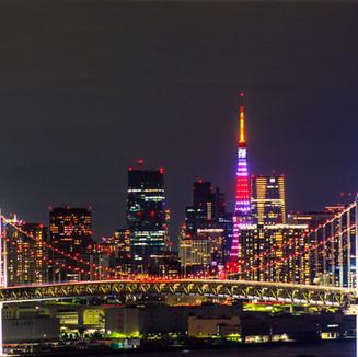 東京湾から望む絶景!