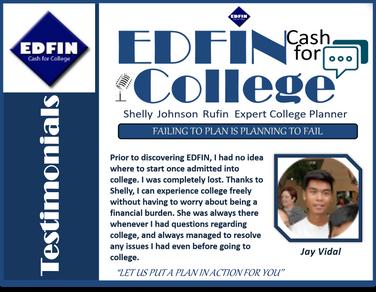 Jay Vidal I Testimonial I EDFIN C.F.C