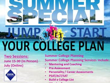 Jump Start Your College Plan this Summer