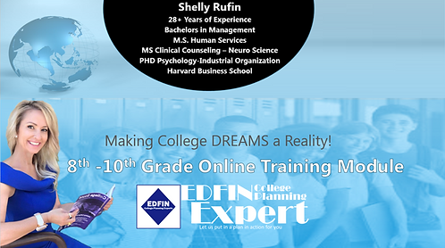8th - 10th  Grade Online Training Module