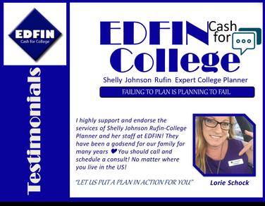 Lorie Schock I Testimonial I EDFIN C.F.C