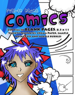 Blank Pages for Kids Comics
