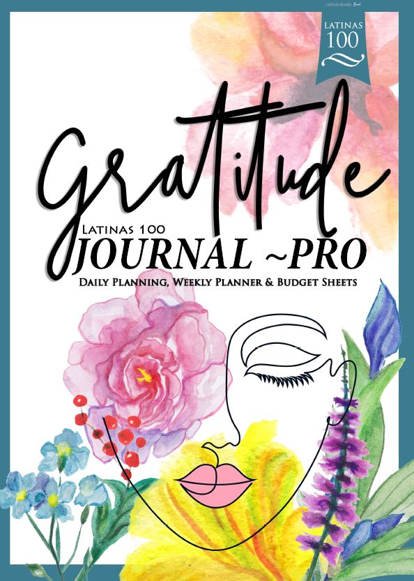 Latinas 100 Gratitude Jounal~pro