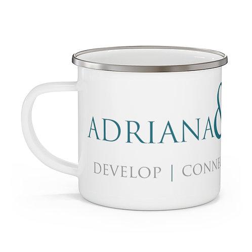 Adriana & Company™ Enamel Camping Mug