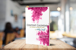 Content Calendar for writers, artists and creatives