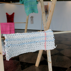 Detail from MFA thesis exhibition
