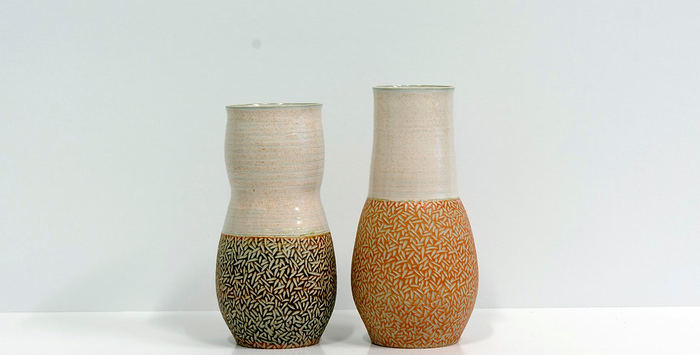 cut out vases