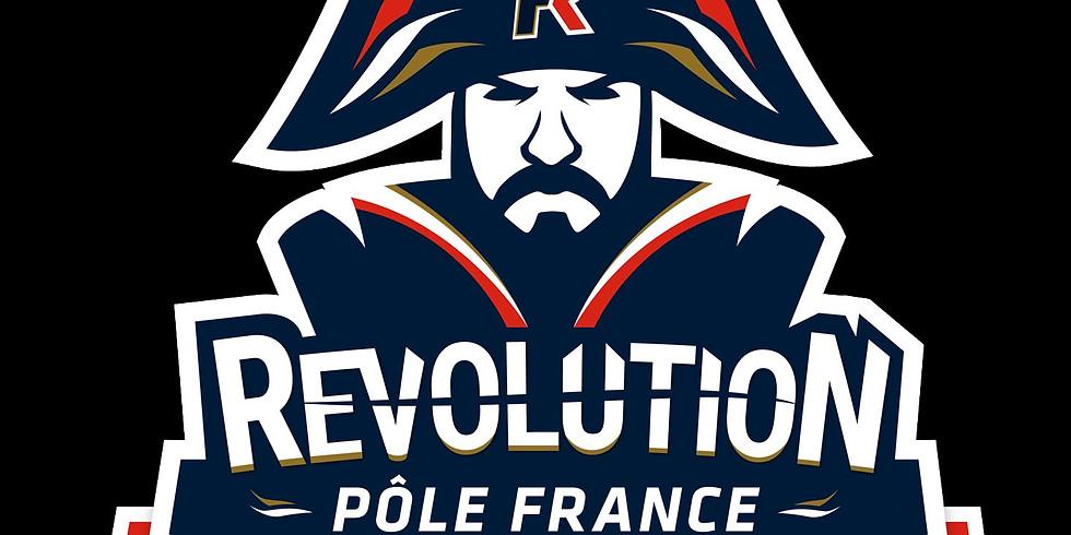 TEAM WEST COAST U19 vs POLE FRANCE REVOLUTION